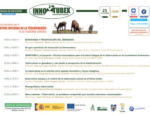 Celebrado el seminario web «Técnicas Innovadoras para el Control Integral de la Tuberculosis en los Ecosistemas Extensivos»